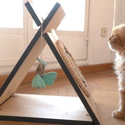 Cómo hacer una cama para gatos