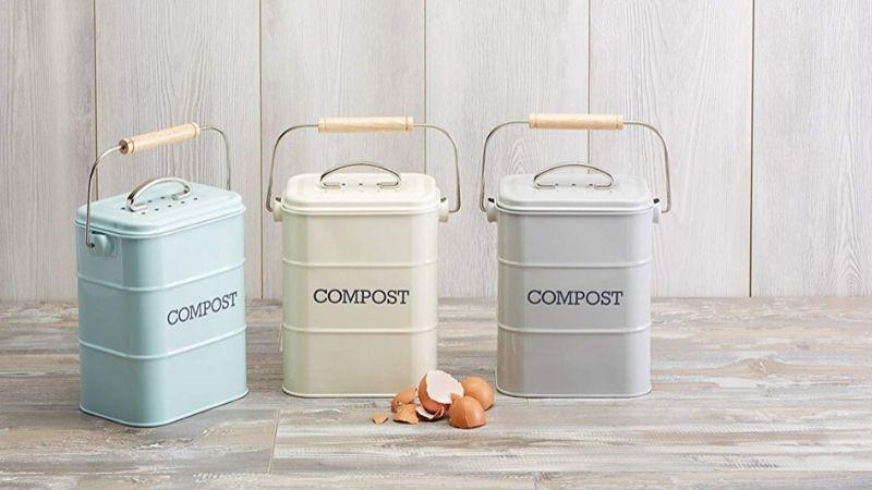 Cubos para compost de 3 litros
