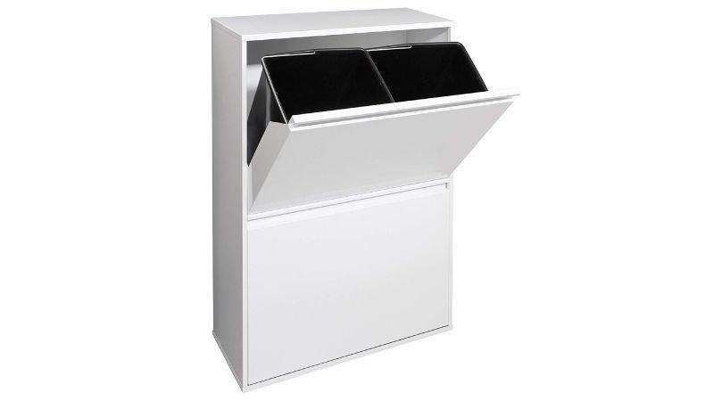 Mueble para reciclaje de acero