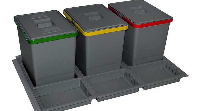 Cubos de basura para cajón