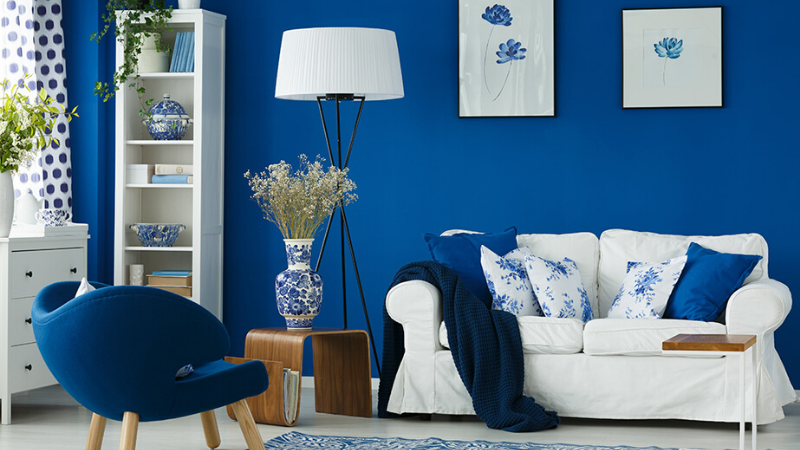 Tendencias decoración 2020 tonos azules