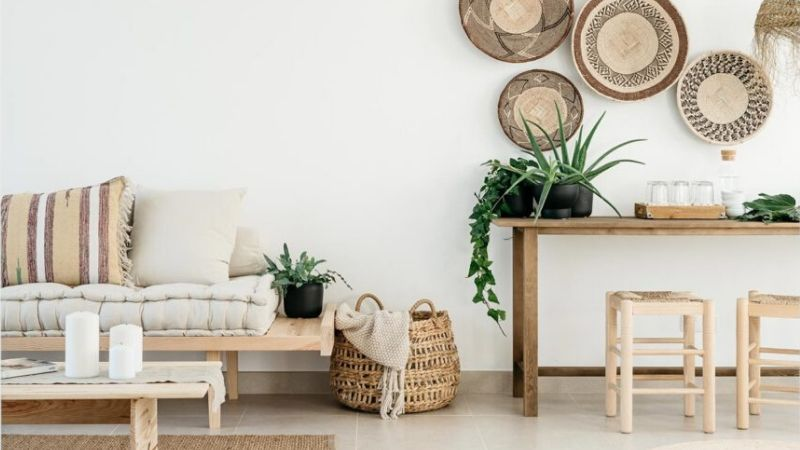 Tendencias decoración 2020 con materiales naturales
