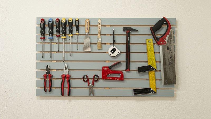 Organizador de herramientas terminado