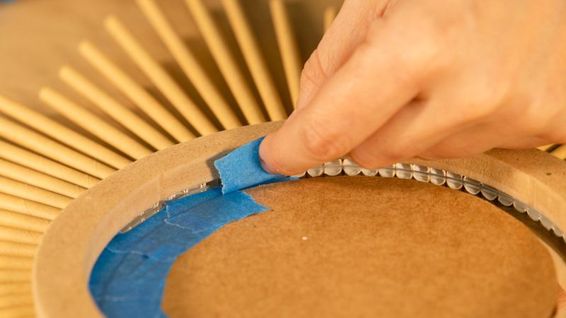 Protección de la superficie antes de aplicar la pintura