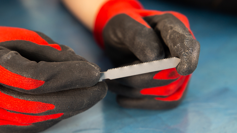 Hoja de sierra especial para cortar metal