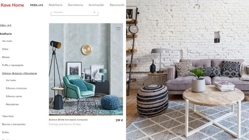 Tienda online Kave Home