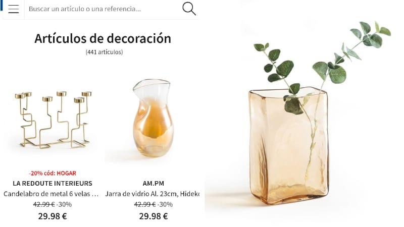 Web de decoración y moda online La Redoute