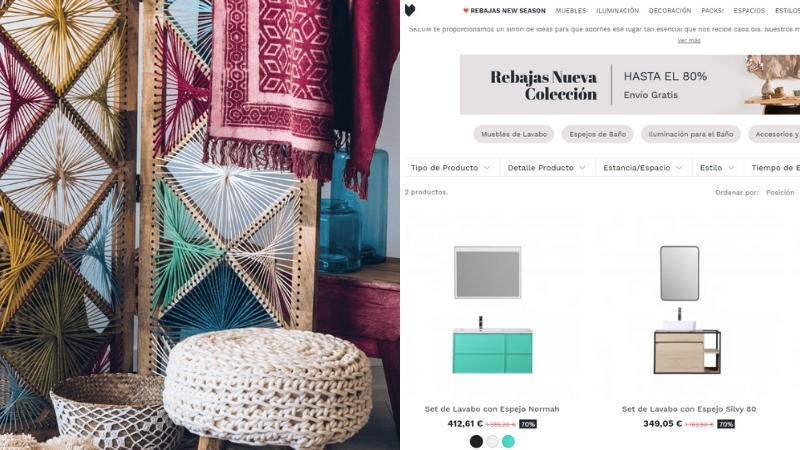 Sklum tienda de decoración online