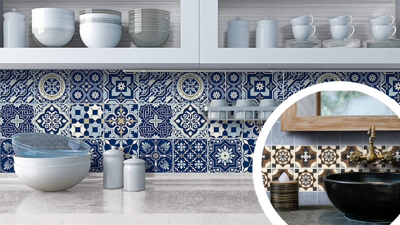 Vinilos azulejos portugueses o bizantinos