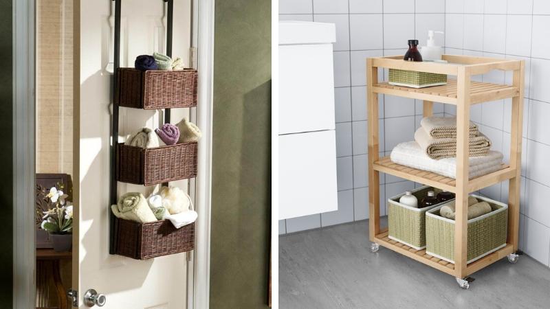 Ideas de almacenaje para muebles pequeños