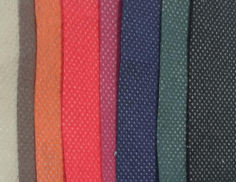 Tejido no tejido TNT de varios colores