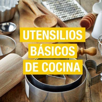 Utensilios básicos de cocina
