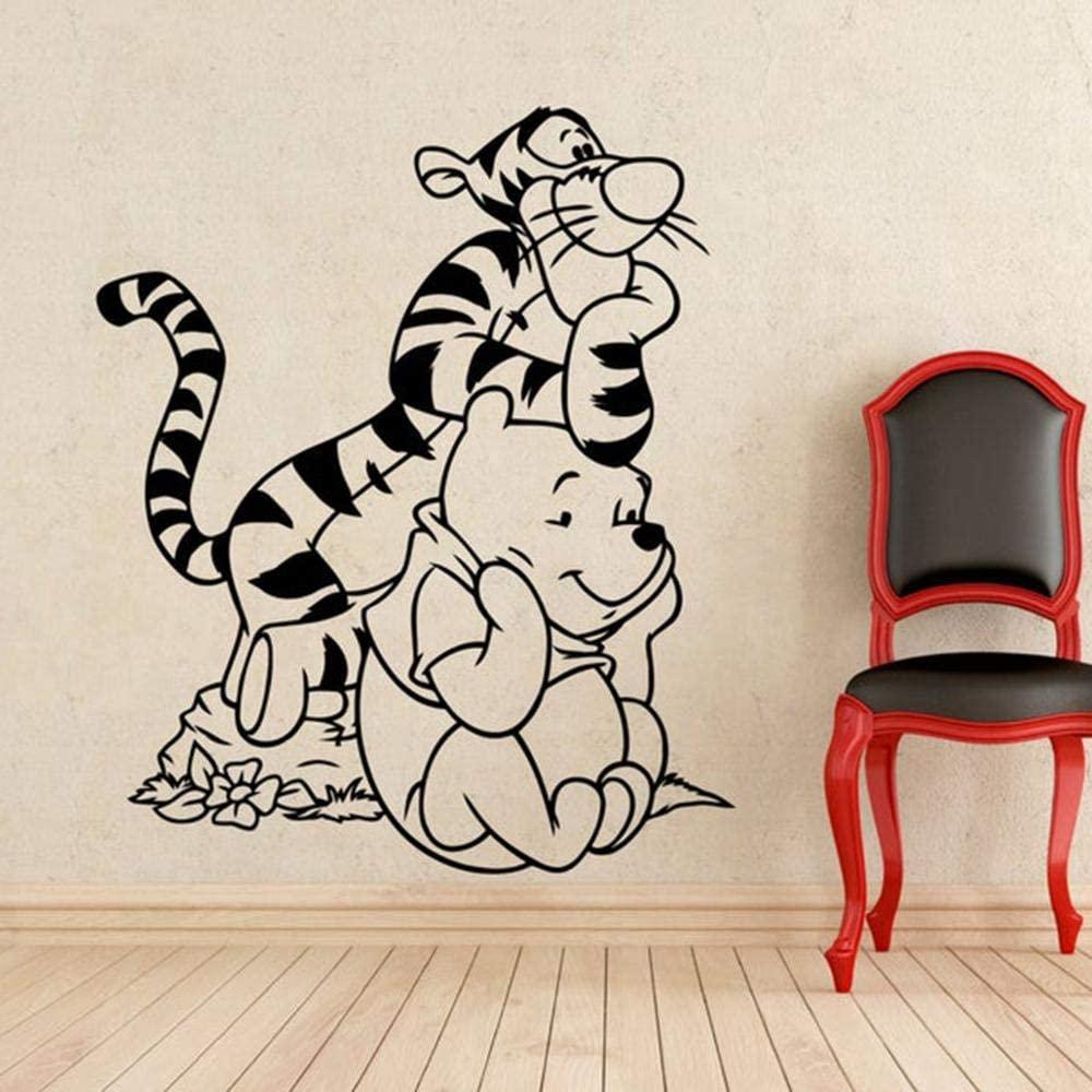 Vinilo infantil con Tiger y Winnie de Pooh