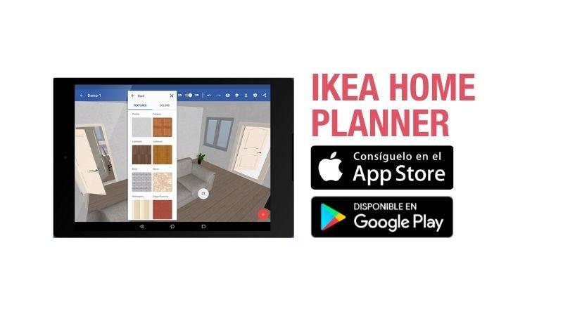 Aplicación de planificación de espacios de IKEA