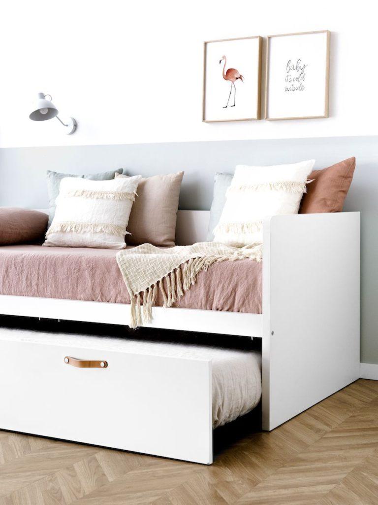 Cama nido, ideal para habitaciones compartidas