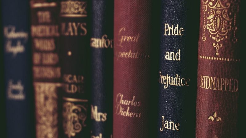 Títulos de libros en inglés