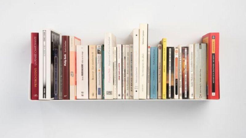 Usa una estantería para tus libros favoritos