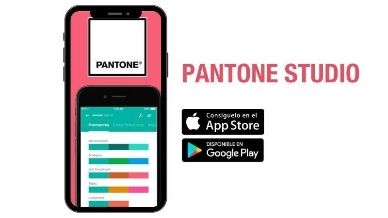 Pantone Studio, una herramienta para elegir colores