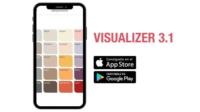 App de simulación de espacios con diferentes tipos de pintura