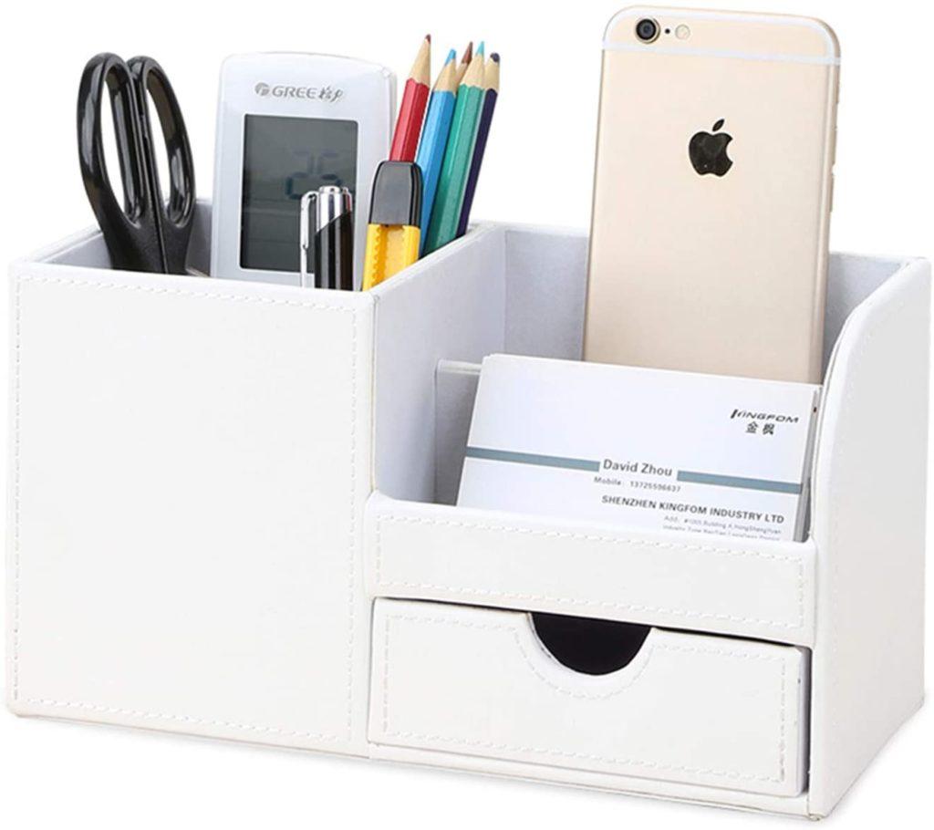 Organizador de material para el escritorio
