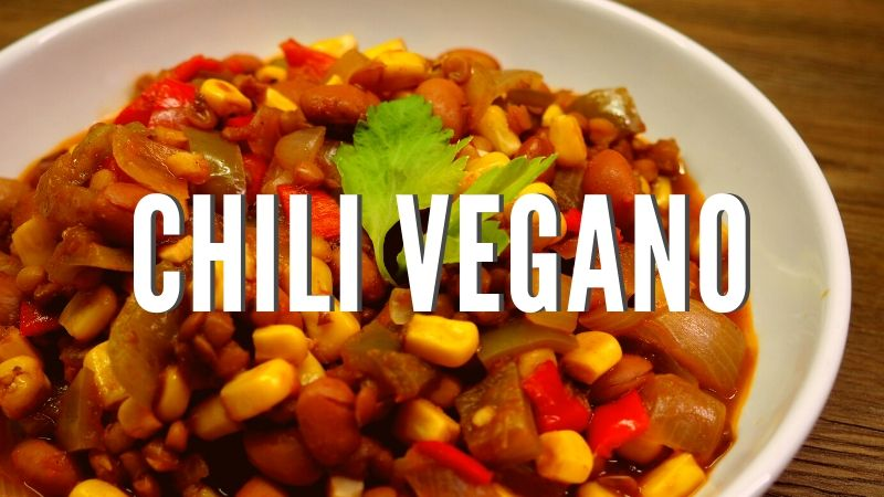 Cómo hacer chili vegano