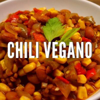 Receta de chili vegano