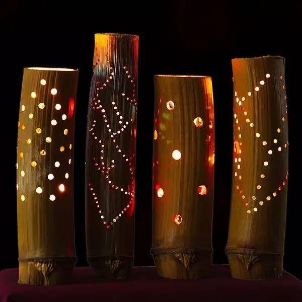 Manualidad para hacer lámparas