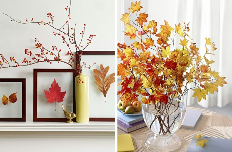 Hojas de árboles para decorar
