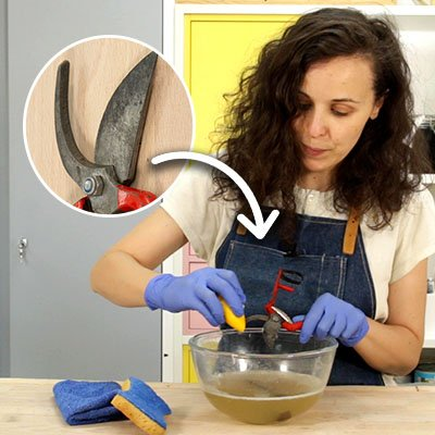 Cómo limpiar óxido