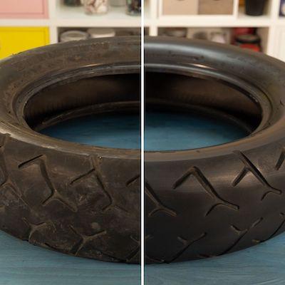 Cómo limpiar un neumático