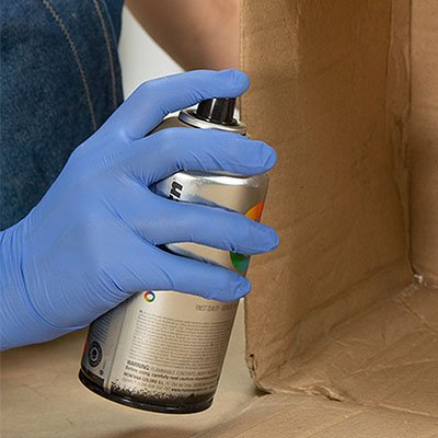 Cómo pintar con spray