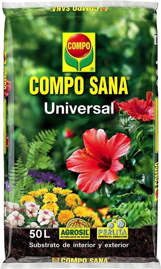 Sustrato universal para plantas de interior y exterior