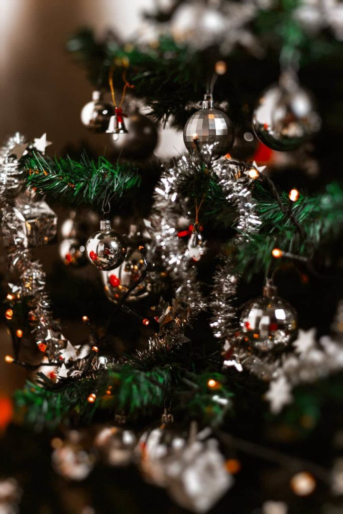 Decoración del árbol de Navidad