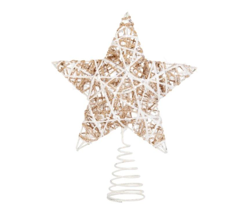 Estrella para árbol de Navidad