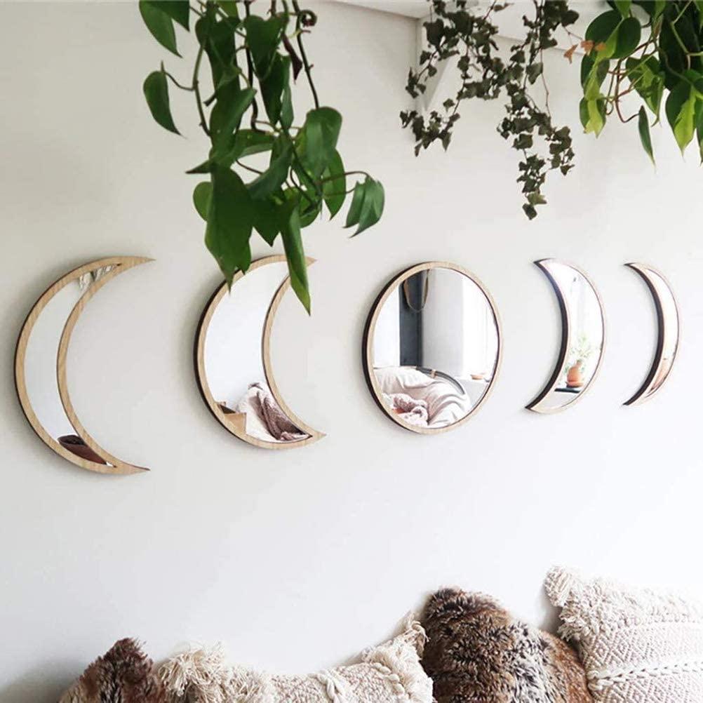 Espejos con forma de luna