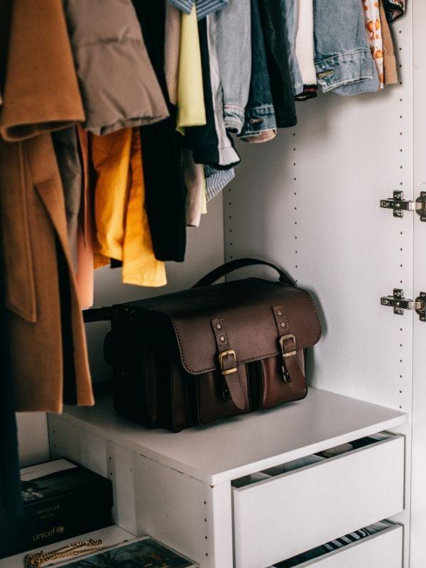 Almacenaje dentro del armario