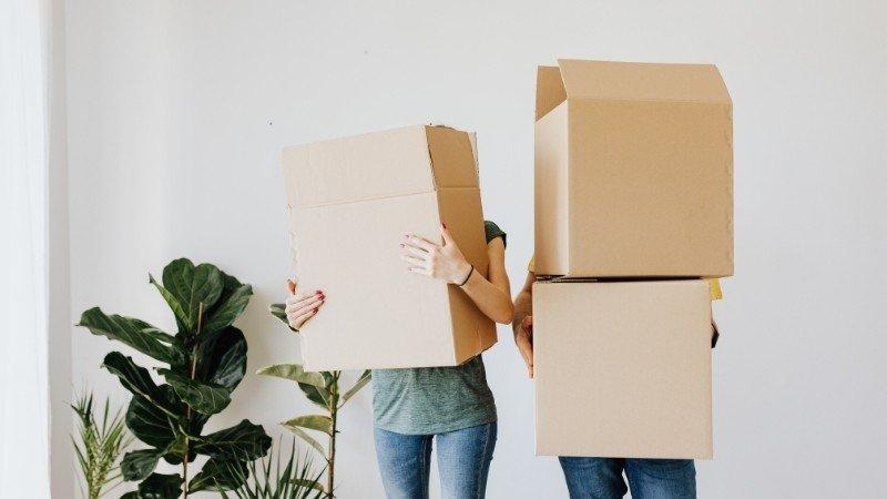 Organizar cajas de mudanza
