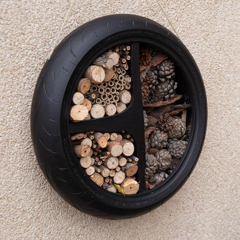 Cómo hacer un hotel para insectos