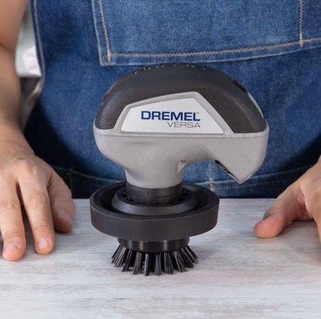 Máquina limpiadora dremel versa con cepillo