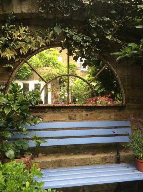 Redecorar la terraza con espejos