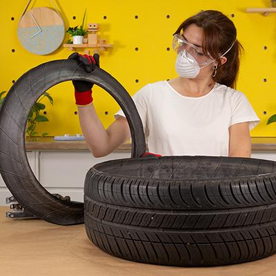 neumático-negro